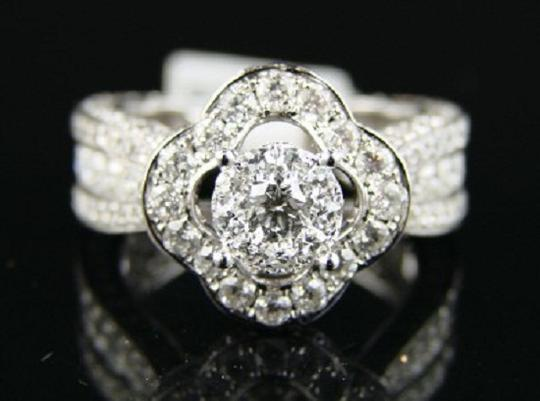 Other 14K Lady Eternity Bridal Engagement Diamond Ring 4.0 Ct Image 5