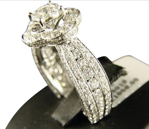 Other 14K Lady Eternity Bridal Engagement Diamond Ring 4.0 Ct