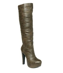 Jessica Simpson Dark grey or deep olive Boots