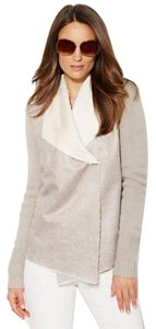 New York & Company Taupe and cream Jacket