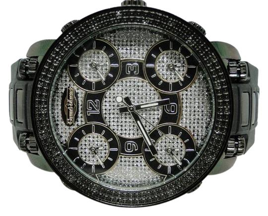 Preload https://img-static.tradesy.com/item/20875657/black-gold-stainless-steel-finish-masterjojinojoe-rodeo-5-time-zone-diamond-watch-0-1-540-540.jpg