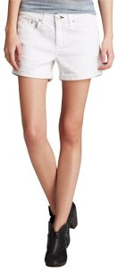 Rag & Bone Boyfriend Preppy Weekend Denim Shorts-Light Wash