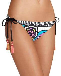 Trina Turk Aquarius Floral Side-Tie Bikini Bottom