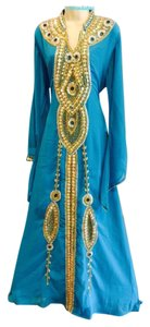 turquoise Maxi Dress by Other