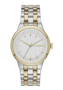 DKNY New DKNY Women's Park Slope Two-Tone 3 Hand Watch NY2463