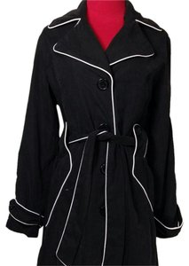 Dollhouse Water-repellant Rain 3/4 Length Classic Water-resistant Trench Coat