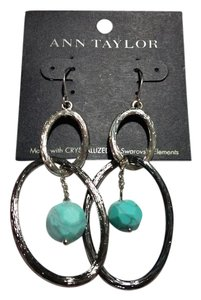 Ann Taylor New Ann Taylor Turquoise Gemstone Dangle Earrings J3167