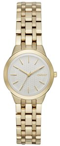 DKNY New DKNY Women's Park Slope Gold-Tone Three-Hand watch NY2491