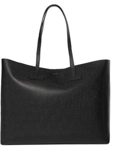 Tom Ford T Medium Large Shopping Tote in black
