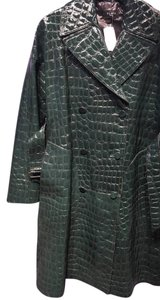 ALAÏA Patent Leather Croc Embossed New With Tags Alaia Coat