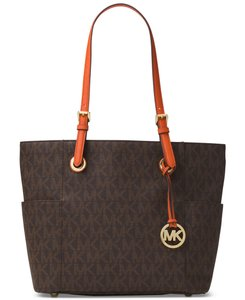 Michael Kors Tote in Brown/Orange