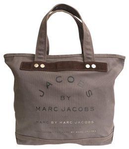 Marc by Marc Jacobs Canvas Travel/weekend Beach Carry All Tote in Grey