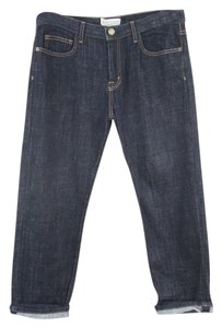 Current/Elliott Capri Cropped Denim Classic Regular Capri/Cropped Denim-Dark Rinse