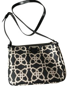 Kate Spade Rare Printed Leather Chic Summer Cross Body Bag