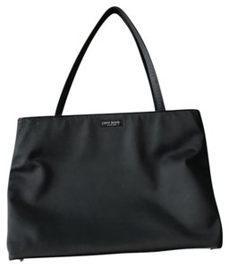 Kate Spade Canvas Work Classic Tote in Black
