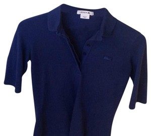 Lacoste Button Down Shirt blue