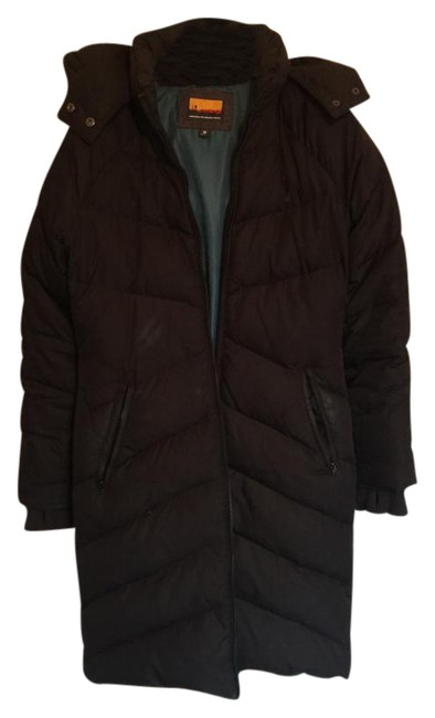 Item - Black Fjord Fitted Down Coat Size 8 (M)