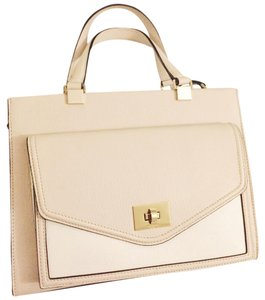 Kate Spade Satchel in Pebble and Cream