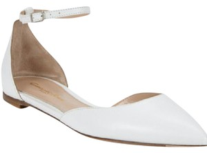 Gianvito Rossi Leather Sandal Summer Spring White Flats