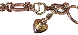 Juicy Couture Silver Tone Bracelet with sharm