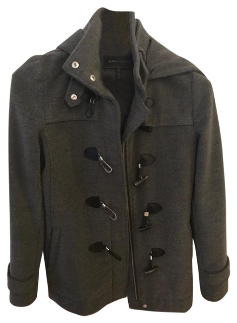 Item - Grey Heather Toggle Hooded Small Coat Size 4 (S)