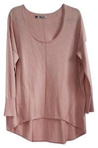 Jennifer Lopez Hi Lo Sparkle Metallic Knit Flowy Tunic