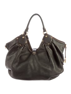 Louis Vuitton Leather Designer Hobo Bag