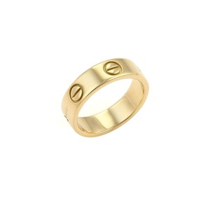 Cartier Cartier Love 18k Yellow Gold 5.5mm Band Ring Size 52