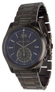 3a4ca286cbe6 Michael Kors NEW MENS MICHAEL KORS (MK8418) GUN METAL AIDEN BLUE CHRONOGRAPH  WATCH