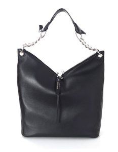 Jimmy Choo New Leather Raven Hobo Bag