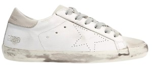 Golden Goose Deluxe Brand Sneakers Suede Superstar white, off white Athletic