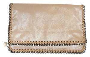 Stella MCartney No Dust Fold Over Magnetic Closure Clutch