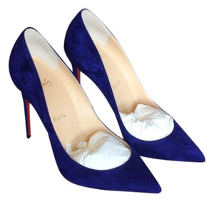 Christian Louboutin Encre (deep purple/navy) Pumps