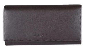 Gucci Gucci Women's Leather Continental Flap Wallet 346058