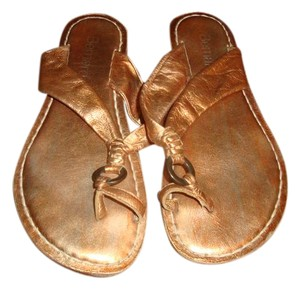 Bernardo Copper Sandals