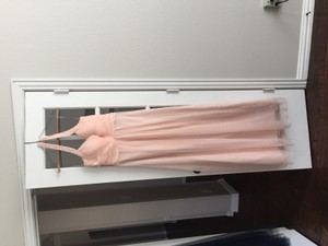 JS Collections Blush Js Collections Chiffon Blush Dress Dress