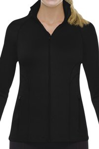 Spanx Spanx Athletic Leisure Contour Jacket 1825 MED Exercise Cover-up Blk