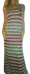 Boho Chic Plus Shize Halter Women's Regular Size Dress