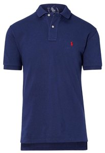 French Roma Polo Men's M T Shirt Navy Blue