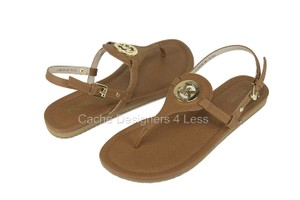 Michael Kors Luggage Tan Sandals