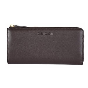Gucci Gucci Women's Leather Zip Wallet 332747 2140