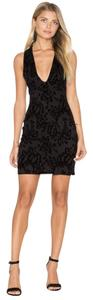 Free People Velvet Bodycon Mini Formal Night Out Dress
