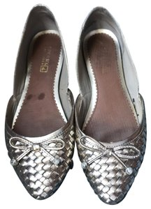 Sperry Pewter Flats