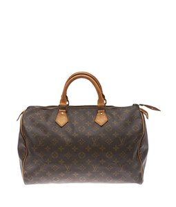 Louis Vuitton Vuitton Speedy 35 Classic Vintage Patina Satchel