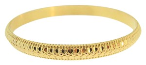 Other Vintage Textured Bangles-18k Yellow Gold