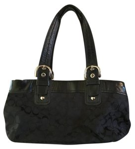 Coach Jacquard Shoulder Bag