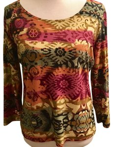 Suzie In The City #shirt #top #scoop Top Multi color