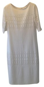 Julia Jordan short dress Off white Eyelet Lace Spring/Summer on Tradesy