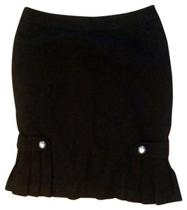 Banana Republic Pencil Size 4 Skirt black