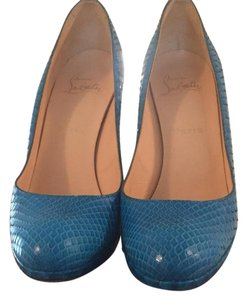 Christian Louboutin Turquoise Blue Pumps